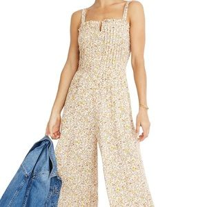 ISO: Blossoming Vines Pintuck Cami Jumpsuit